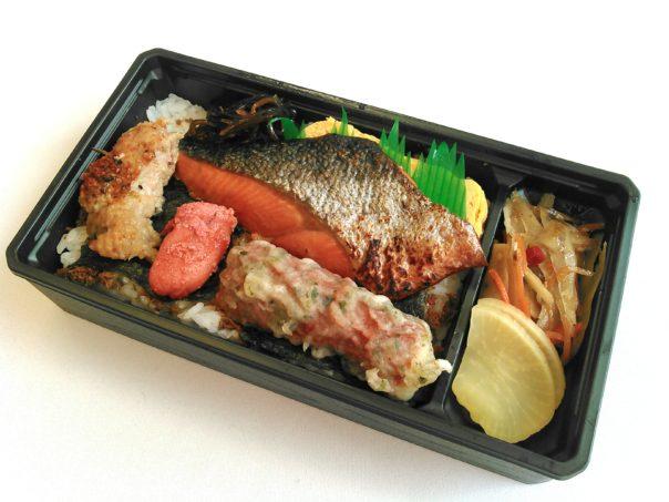 大人の海苔弁(銀鮭のみりん焼き)