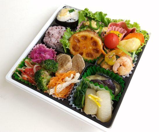 1日分の2/3の野菜が摂れるお弁当